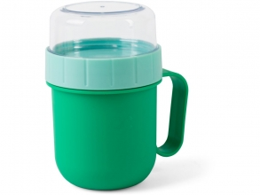 , Quarto colori on the go lunch box groen/mint