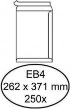 , Envelop Quantore akte EB4 262x371mm zelfklevend wit 250stuks