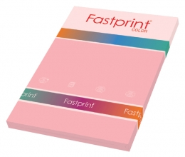 , Kopieerpapier Fastprint A4 160gr roze 50vel