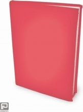 , Strech bookcover rood a5