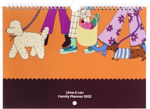 , Lima & Lou Familieplanner 2022