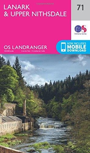 Ordnance Survey,Lanark & Upper Nithsdale