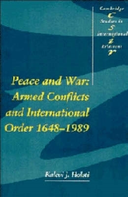 Kalevi J. (University of British Columbia, Vancouver) Holsti,Peace and War