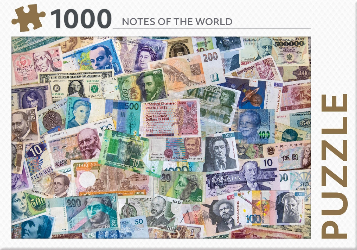 ,Notes of the world - puzzel 1000 st