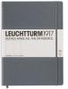 Lt344816 , Leuchtturm notitieboek master slim a4 lijn 225x315 mm blanco antraciet