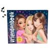 , Topmodel vriendenboek met geluid en licht blauw