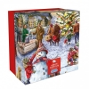<b>Gib-g3409</b>,Puzzle a white christmas giftbox 500