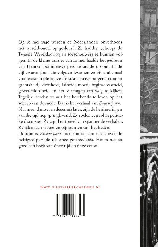 Han van der Horst,Zwarte jaren