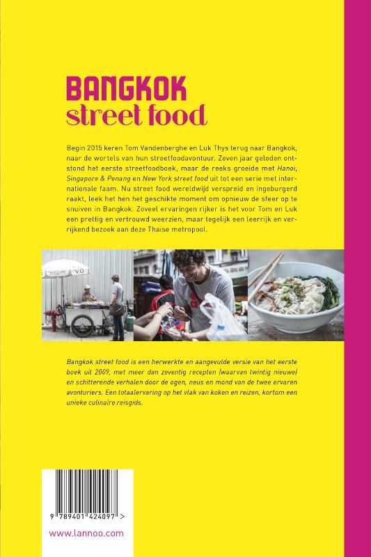 Tom Vandenberghe, Luk Thys,Bangkok street food