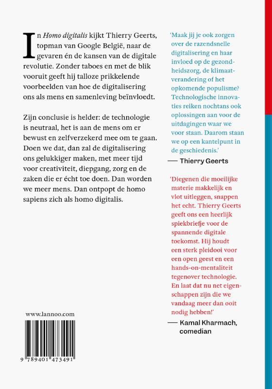 Thierry Geerts,Homo Digitalis