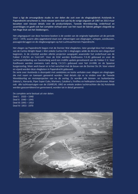 Pieter van Wijngaarden,Logboek Aviolanda en het verdwenen vliegveld Papendrecht Deel III