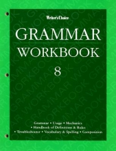 McGraw-Hill Education Writer`s Choice Grade 8 Grammar Workbook