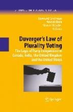 Bernard Grofman,   Andre Blais,   Shaun Bowler Duverger`s Law of Plurality Voting