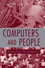 Holmes, W. Neville Computers and People