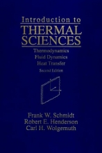 Schmidt, Frank W. Introduction to Thermal Sciences