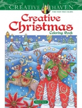 Marjorie Sarnat Creative Haven Creative Christmas Coloring Book
