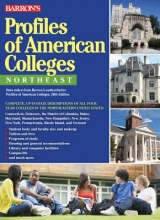 Barron`s Educational Series Profiles of American Colleges, Northeast
