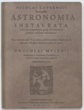 Astronomia by Nicolai Copernicus Dove Leather Journal