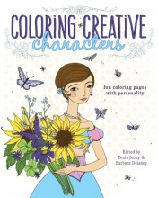Coloring Creative Characters Adult Coloring Book