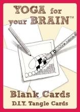 Sandy Yoga for Your Brain - 20 Blank Tangle Cards
