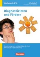 Verhoeven, Martina,   Messner, Ardito,   Lichtenberg, Willi,   Flade, Lothar Diagnostizieren/Fördern 9./10. Sj. Berechnungen/Arb. Math.