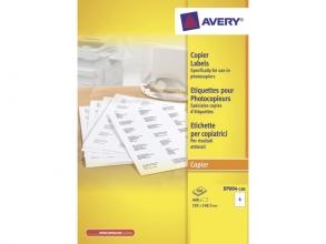 , Etiket Avery DP004-100 105x149mm wit 400stuks