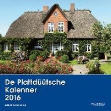 Ehlers, Marianne De Plattdüütsche Kalenner 2016