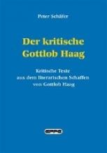 Schäfer, Peter Der kritische Gottlob Haag