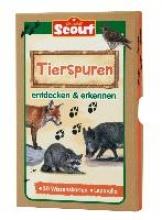 Scout Lernkarten-Box - Tierspuren