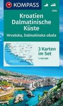 , Kroatien, Dalmatinische Küste 1:100 000
