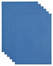 , Kopieerpapier Papicolor A4 200gr 6vel royal blue