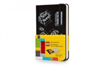 Moleskine Lego Limited Edition Notebook II, Pocket, Plain, Black (3.5 X 5.5)