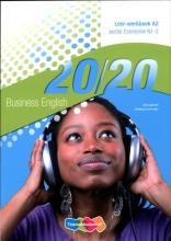 Joke  Ligtvoet, Hedwig  Suurmeijer 20/20 English A2 Economie N1-2 Leer-werkboek