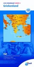 ANWB , ANWB wegenkaart Europa 4 Griekenland