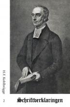 H.F. Kohlbrügge , Schriftverklaringen 2