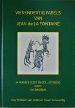 Jan Dasjelin , VIERENDERTIG FABELS VAN JEAN de LA FONTAINE