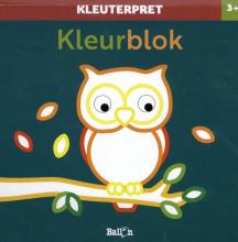 , Kleurblok uil 3+