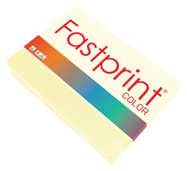 ,Kopieerpapier Fastprint A4 80gr vanille 500vel