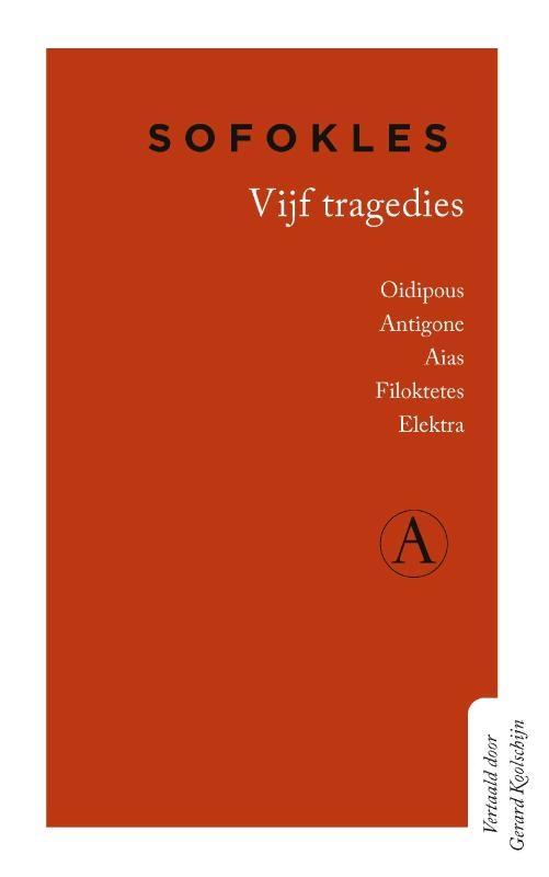 Sofokles,Vijf tragedies