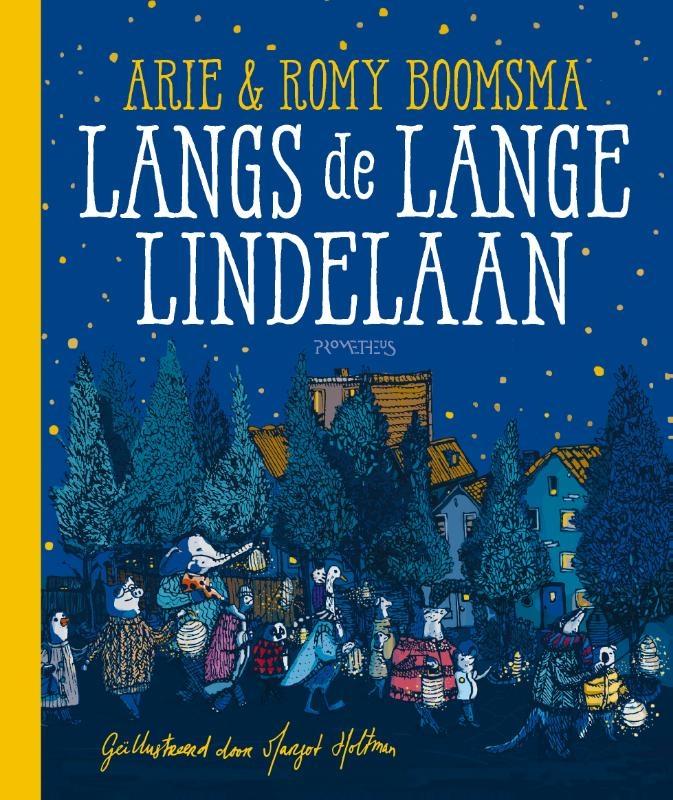 Arie Boomsma, Romy Boomsma,Langs de Lange Lindelaan