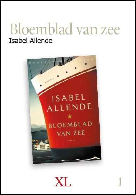 Isabel Allende,Bloemblad van zee (set)