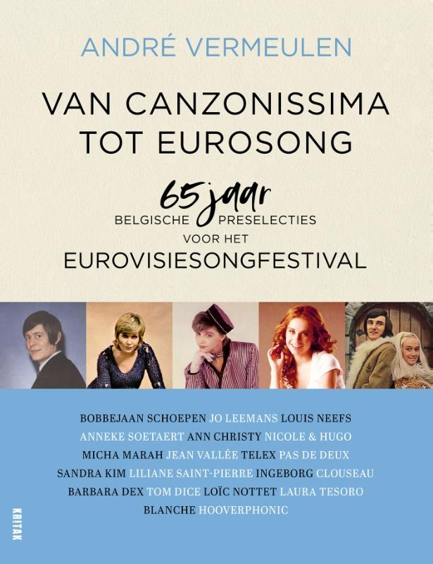 André Vermeulen,Van Canzonissima tot Eurosong