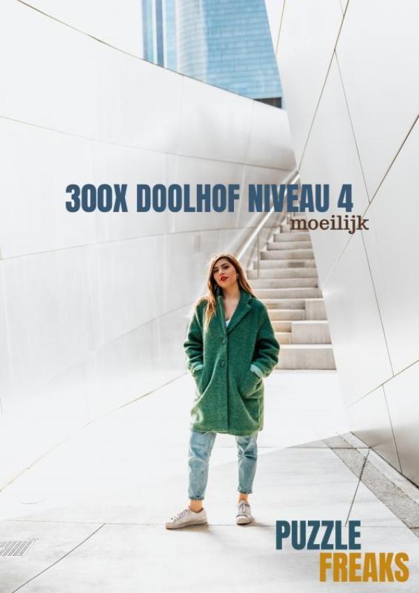 Puzzle Freaks,300X DOOLHOF NIVEAU 4