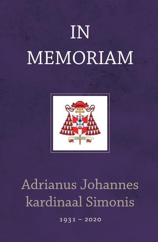 ,In memoriam kardinaal Adrianus Johannes Simonis