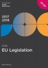 Drury, Paul,Core EU Legislation 2017-18