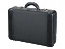 ,<b>Laptop attach� koffer Alumaxx Modica. Zwart kunstleer.</b>