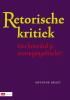 A.  Braet,Retorische kritiek