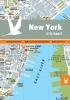 New York in kaart,12 stadskaarten • 100 bezienswaardigheden • 200 adressen