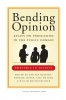 Bending opinion,essays on persuasion in the public domain