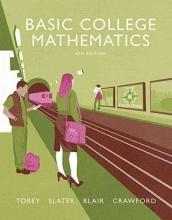 John, Jr. Tobey,   Jeffrey Slater,   Jenny Crawford,   Jamie Blair Basic College Mathematics